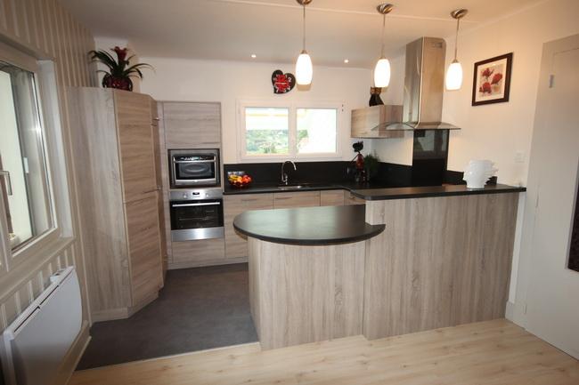 plan de cuisines free armoire cuisine panneaux de particules blanc brillant et chne quipement. Black Bedroom Furniture Sets. Home Design Ideas