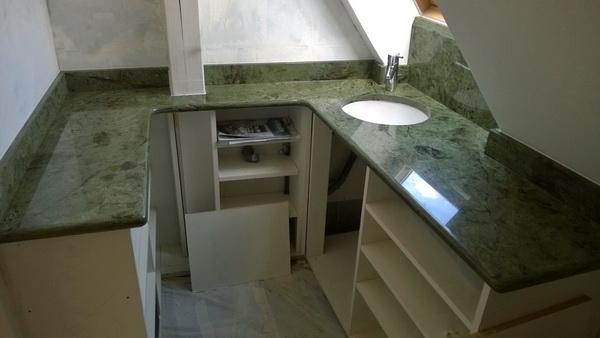 Granit demange granit pierre et marbre pierre for Plan de travail vert anis