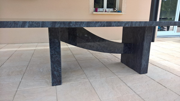 Table Jardin En Granit 07 16 Pierre Granit Andre Demange