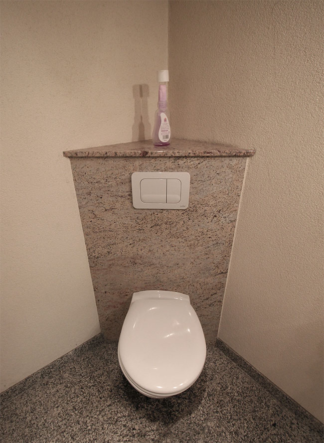 D coration wc pierre for Decoration maison wc design